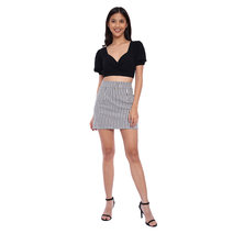 Buckle Skirt by The Fifth Clothing