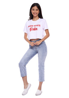Crop Not Babe by Draft Clothing