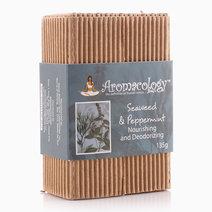 Seaweed & Peppermint Nourishing and Deodorizing Bar by Aromacology Sensi