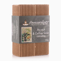 Almond & Coffee Scrub Exfoliating Bar by Aromacology Sensi