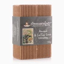 Almond & Coffee Scrub Exfoliating Bar by Aromacology Sensi