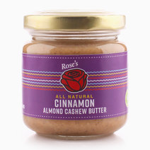 Cinnamon Almond Cashew Butter (100g) by Rose's Kitchen