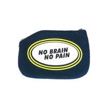 No Brain Coin Purse by Artwork