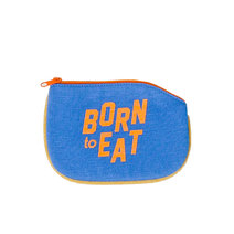 Born to Eat Coin Purse by Artwork