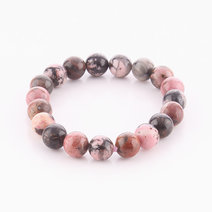 Rhodonite Bracelet (10mm Bead Size) by Cosmos MNL