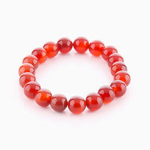Red Agate Bracelet (10mm Bead Size) by Cosmos MNL