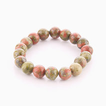 Unakite Bracelet (10mm Bead Size) by Cosmos MNL