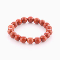 Red Jasper Bracelet (10mm Bead Size) by Cosmos MNL