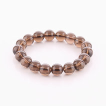 Smoky Quartz Bracelet (10mm Bead Size) by Cosmos MNL