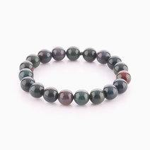Bloodstone Bracelet (10mm Bead Size) by Cosmos MNL