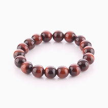 Red Tiger's Eye Bracelet (10mm Bead Size) by Cosmos MNL