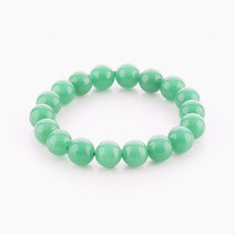 Green Aventurine Bracelet (10mm Bead Size) by Cosmos MNL
