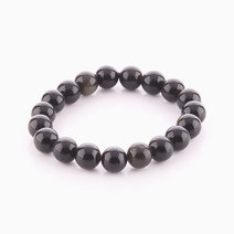 Gold Sheen Obsidian Bracelet (10mm Bead Size) by Cosmos MNL