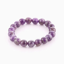 Amethyst Bracelet (10mm Bead Size) by Cosmos MNL