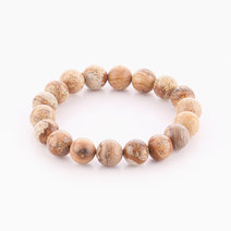 Picture Jasper Bracelet (10mm Bead Size) by Cosmos MNL