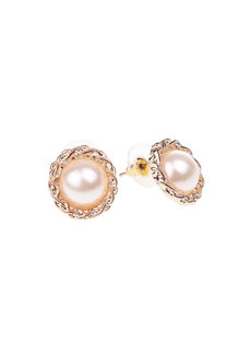Navajo Pearl Stud Earrings by Moxie PH