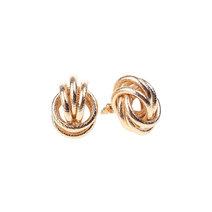 Laura Knot Earrings by Dusty Cloud