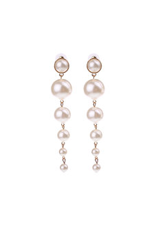 Yael Pearl Earrings by Dusty Cloud