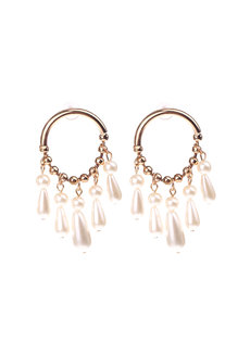Dakota Pearl Earrings by Dusty Cloud