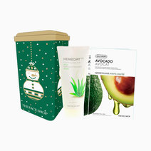 Aloe Cleanser & Mask Sheet Set by The Face Shop