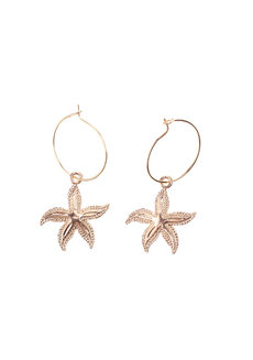 Lola Starfish Earrings by Dusty Cloud