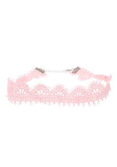 Bella Crochet Choker by Dusty Cloud