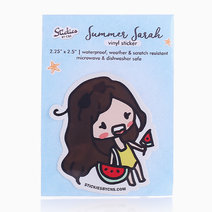 Summer Sarah Vinyl Sticker by C&S Designs
