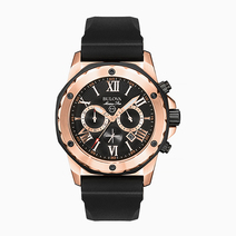 Marine Star Watch (Rose Gold) by Bulova