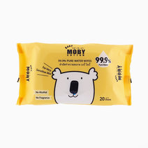 Water Wipes 20s by Baby Moby
