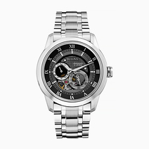 Silver Automatic Watch by Bulova