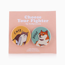Choose Your Fighter Pin Set by allyrocero