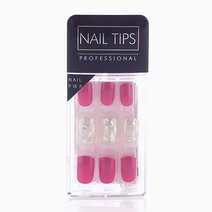 Press On Gel Nails Glass (30 Tips) by Nail Pops