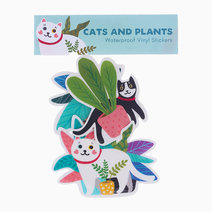 Cats and Plants Sticker Pack by The Offbeat Cat