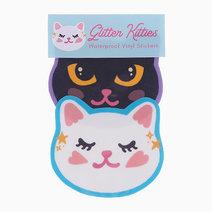 Glitter Kitties Sticker Pack by The Offbeat Cat