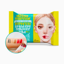 Stress Relieving Purefull Lip and Eye Remover Pad by Ariul