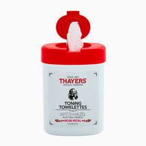 Toning Witch Hazel Rose Petal Towelettes by Thayers