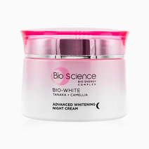 Bio-White Advanced Whitening Night Cream (50g) by Bio Science