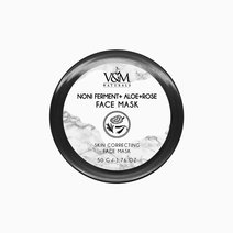 Noni Ferment + Aloe + Rose Face Mask by V&M Naturals