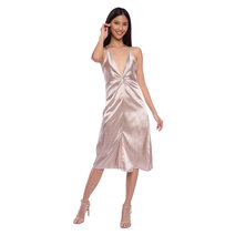 Famas Satin Dress by HAV PH