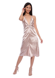 Famas Satin Dress by HAV PH