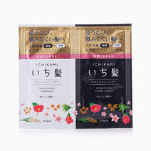 Ichikami Smoothing Sachet (Shampoo & Conditioner) by Kracie