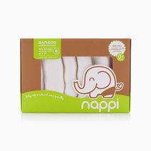 """Bamboo Muslin Hanky (6/12"""") by Nappi Baby PH"""