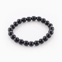 Intention Bracelet Black Onyx (8mm Beads) by Crafted by Ica