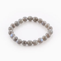 Intention Bracelet Labradorite (8mm Beads) by Crafted by Ica