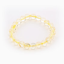 Intention Bracelet Citrine (8mm Beads) by Crafted by Ica