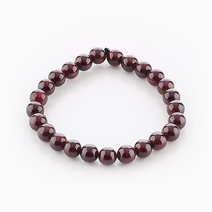 Intention Bracelet Garnet (8mm Beads) by Crafted by Ica