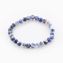 Intention Bracelet Sodalite (6mm Beads) by Crafted by Ica
