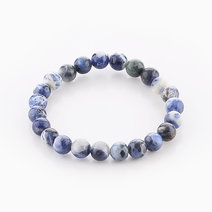 Intention Bracelet Sodalite (8mm Beads) by Crafted by Ica