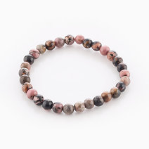 Intention Bracelet Rhodonite (6mm Beads) by Crafted by Ica