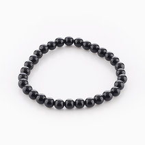Intention Bracelet Black Onyx (6mm Beads) by Crafted by Ica